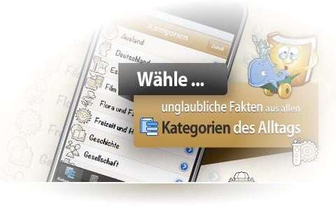 Woxikon Unglaubliches-Wissen-App
